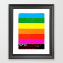 Polaroid 108 Framed Art Print