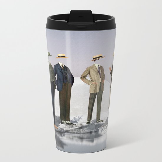 Natural Inhabitants Metal Travel Mug