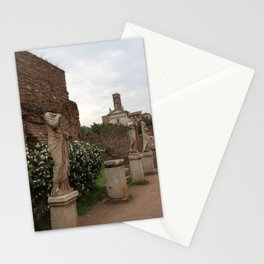 Palatine Hill in Overcast Stationery Cards