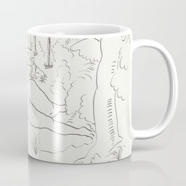Naked in the Woods Coffee Mug