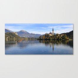 lake bled Canvas Print