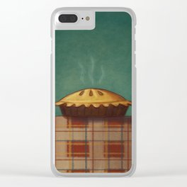 Happy Thanksgiving Clear iPhone Case