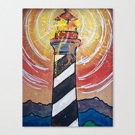 Lighthouse Funk 1 Canvas Print