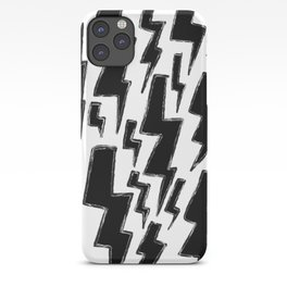 Lightning Black iPhone Case