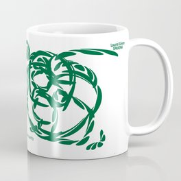 LAUREL GREEN: peace and prosperity Coffee Mug