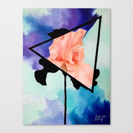 Ironic Iris Canvas Print