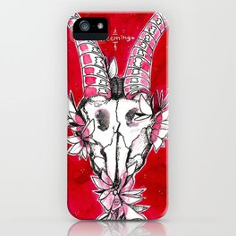 "#13 tarot card ""teeming"" iPhone Case"