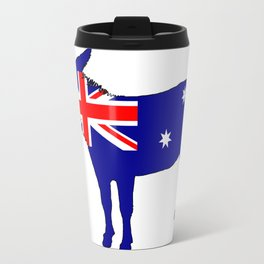 Australian Flag - Donkey Travel Mug