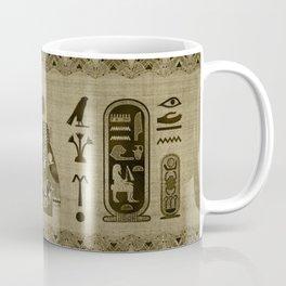 Hathor Egyptian Ornament Coffee Mug