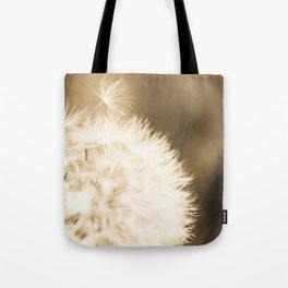 Dandelion Breeze Tote Bag