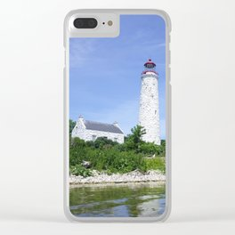 Chantry Island Light Clear iPhone Case