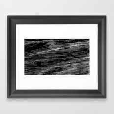 stitches Framed Art Print