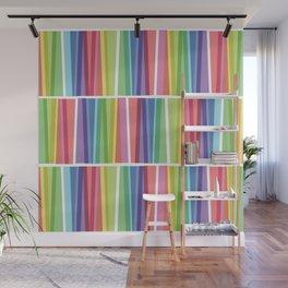 Fig. 047 Rainbow Geometric Keyboards Wall Mural