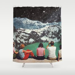 GLACIAL Shower Curtain