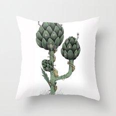 Artichoke Fairies  Throw Pillow