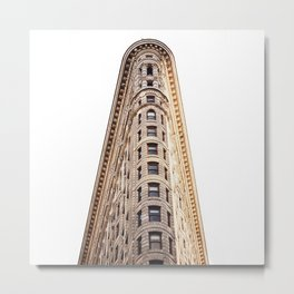 sir flatiron Metal Print