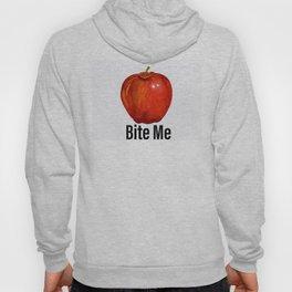 Muérdeme manzana roja Hoody