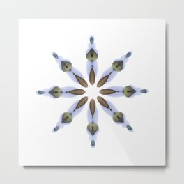 Minimalist Rock Mandala No.2 Metal Print