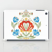 nordic iPad Cases featuring Nordic Jelsa  by Helen Borrowman Davison