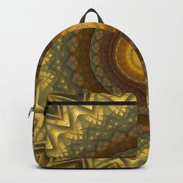 Golden Mandala Backpack