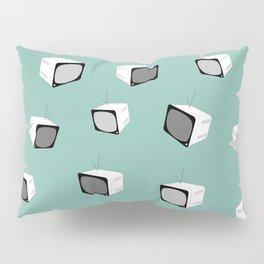 MINT Retro Tv Pillow Sham