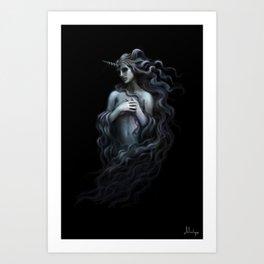 Unicorn Nymph Kunstdrucke