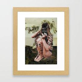 Crawling Backwards Framed Art Print