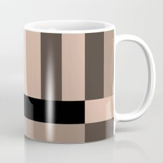 Black and Nude abstract Mug