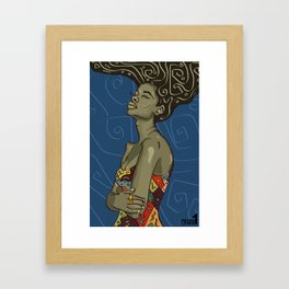 Frequency Framed Art Print