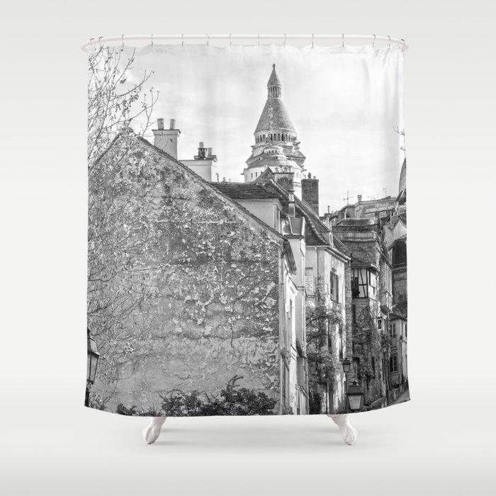 Sacre Coeur View Montmartre Paris Shower Curtain By Zenz