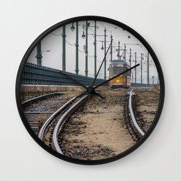Commute. Wall Clock