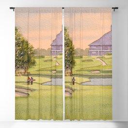 The Australian Golf Club Hole 7 Blackout Curtain