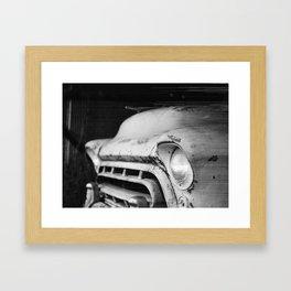 One Head Light  Framed Art Print