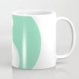 Yin & Yang (Mint & White) Coffee Mug