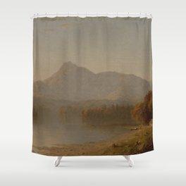 Sanford Robinson Gifford - Mountain Landscape Shower Curtain