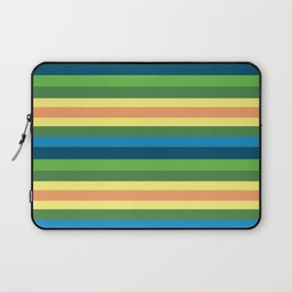 Pastel Gama Stripes Laptop Sleeve