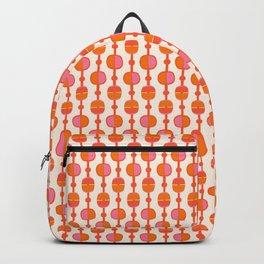Mid Century Retro Dots Backpack