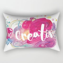 Be Creative Rectangular Pillow