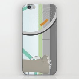Elephants Can Ride Bicycles Too iPhone Skin