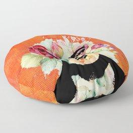 Frida flowers Floor Pillow