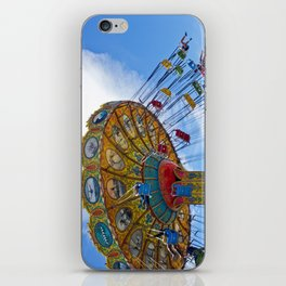 Flying Swings  Carnival Photography iPhone Skin