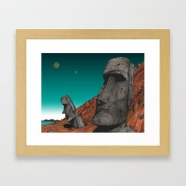 Easter Island 1 Framed Art Print