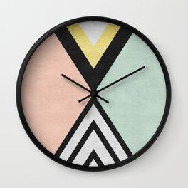 Golden Art VII Wall Clock