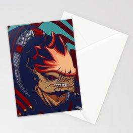 Urdnot Wrex - Mass Effect Stationery Cards