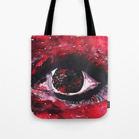 chaos Tote Bags featuring chaos by echoes