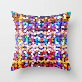 Multicolored lamp shades Throw Pillow