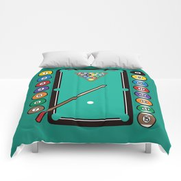 Billiards Table and Equipment Comforters