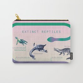 extinct reptiles Carry-All Pouch