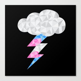 Transgender Storm Cloud Canvas Print