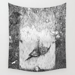 Mad Girl's Love Song  Wall Tapestry